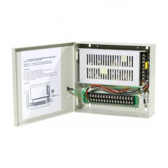 Alimentation professionnelle 12V / 20A - 18 sorties