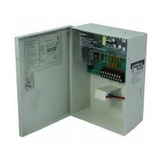 Alimentation élèctrique professionnelle avec batterie -12 volts - 20 amp - 18 sorties