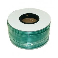 Câble vidéo coaxial KX6 vert touret de 500 mètres