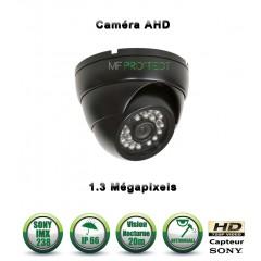 Camera dômes de vidéosurveillance Capteur SONY 1000 lignes vision nocturne 20m / Blanc