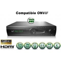 Enregistreur NVR 24 canaux 1080P h264