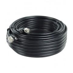 Câble vidéo BNC + alimentation 2G0.5 de 50m