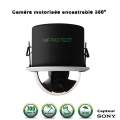 Caméra motorisée PTZ analogique Capteur SONY 700 lignes ZOOM x30 Intérieur /  Encastrable