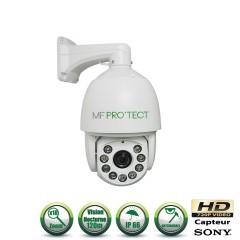 Caméra motorisée PTZ AHD Capteur 1/3 CMOS 720P ZOOM x18 IR 120m
