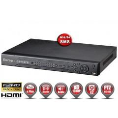Enregistreur TRYBRIDE AHD 8 canaux 1080P h264