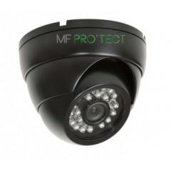Camera dôme AHD / CVI / TVI / Analogique de vidéosurveillance 720P 1MP vision nocturne 20m / Noir