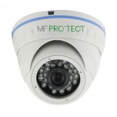 Camera dôme AHD / CVI / TVI / Analogique de vidéosurveillance 720P 1MP vision nocturne 20m / Blanc