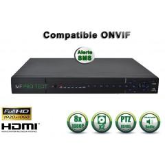 Enregistreur NVR 24 / 32 canaux 5MP / 3MP / 1080P h265