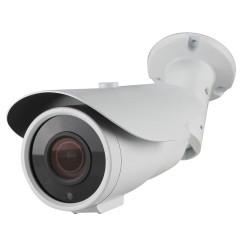 Caméra tube IP de vidéosurveillance SONY UHD 4K vision nocturne 40m / Blanc