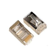 Plug mâle RJ45 catégorie 5 blindé (10 pièces)