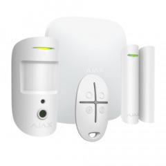 Alarme maison sans fil AJAX Starter Kit Cam