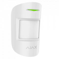 Détecteur de mouvement et bris de vitre sans fil immunité animaux pour alarme AJAX - Ref : CombiProtect