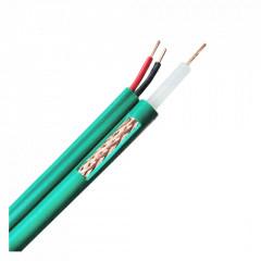 Câble KX6 alimentation 2G0.5 vert touret de 100 mètres